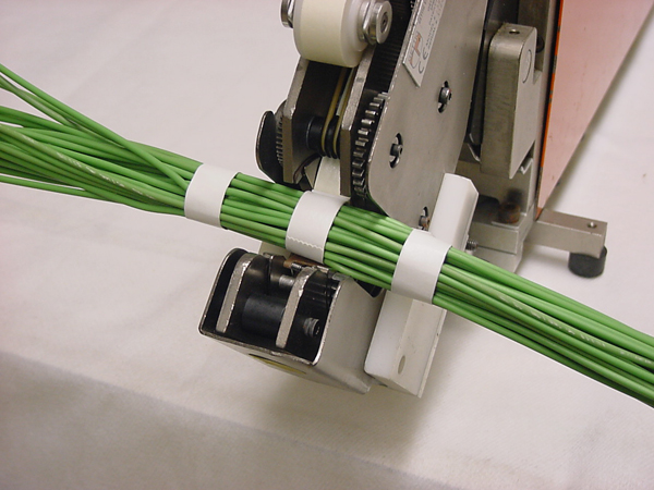 Wire Harness Bundle : Semi automatic wire spot taping system spring mills